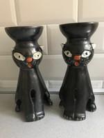 Retro  kerámia cicák a Képcsarnok Vállalattól