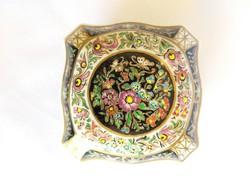 Zsolnay, Maca Virág mintás kézzel festett bonbonier