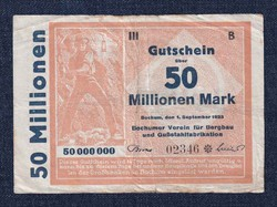 50 millió márka 1923 szükségpénz /id 10244/