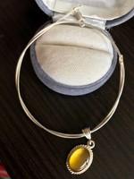 Ezüst nyaklánc ezüst medállal