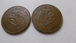 Bronz Guernsey Eight Doubles 1956 RR