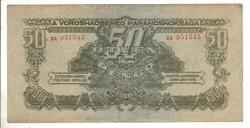 50 pengő 1944 VH 1.
