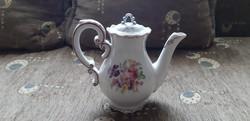 Antik zsolny porcelán kávé kiöntő