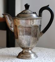 EPNS ezüstözött, eredeti art deco teás kanna