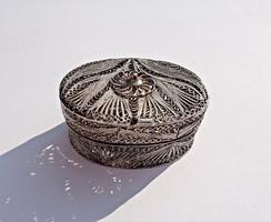 Áttört filigrán 925-ös doboz