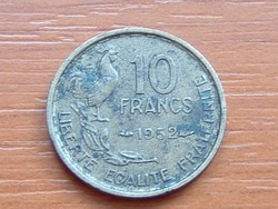 FRANCIA 10 FRANK FRANCS 1952 KAKAS