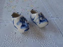 Porcelán cipők 2 db