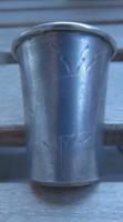 Lengyel ezüst vodkás pohár