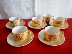 Eredeti Japán szakés készlet vagy kicsi baba kávés készlet, tojáshéj porcelán
