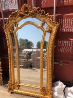 Aranyozott empire tükör
