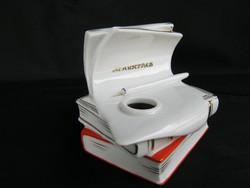 Lomonoszov porcelán könyv alakú tintatartó