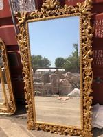 Florentin faragott-aranyozott tükör