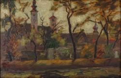 0W683 Hornyánszky Miklós : Szentendre Templomkert