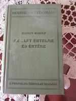 EUCKEN RUDOLF : AZ ÉLET ÉRTELME ÉS ÉRTÉKE 1915