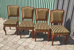 4 db kárpitozott szék