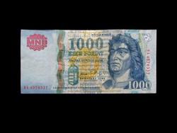 1000 FORINT - ELŐSZÖR BIZTONSÁGI CSÍKKAL -  2005