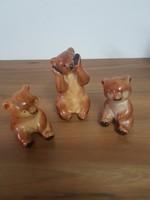 Iparművész mackó trio
