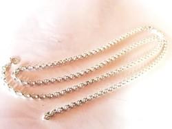Régi, kézi készítésű ezüst nyaklánc (835)