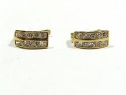 Arany bébi fülbevaló(Kecs-Au82671)