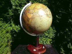 Globe Columbus Üveg Földgömb Model 200 Ca.1938 (+ iránytű)