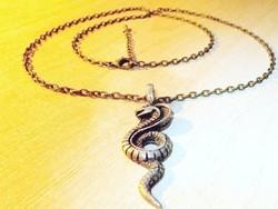 Tekeredő Kígyó -  Kobra uniszex nyaklánc
