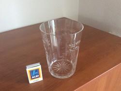 Aukció! 19. századi empire ( klasszicista) stílusú, lobmeyr minőségű 0.7 literes ivópohár