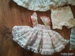 Régi babaruha, baba ruha, alsóruhák egyben