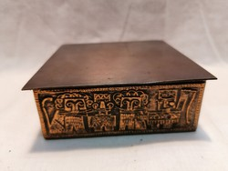 Iparművész bronz doboz