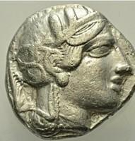 Attika Athén ezüst Tetradrachma     17,00g,  23mm.