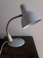 Retro gégecsöves asztali lámpa