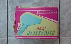 Elektromas hajszárító a 70-es évekből