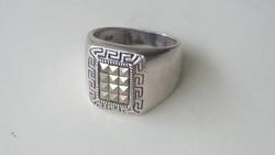 Ezüst pecsétgyűrű 925