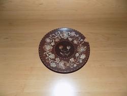 Retro kerámia falitányér 19 cm (3p)
