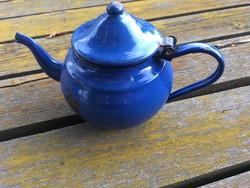 Kék zománcos teás kanna