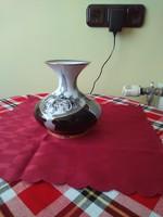 Hollóházi Jurcsák porcelán váza.