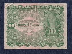 Ausztria 100 Korona 1922 / id10750/