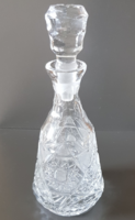 Csodálatos kristály pálinkás üveg