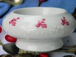 Elegáns Wallendorf porcelán gyertyatartó