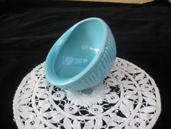 Zsolnay kék  , asztal közép  11,5  cm