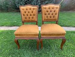 2 db. nagyon masszív nehéz alacsonyabb szék