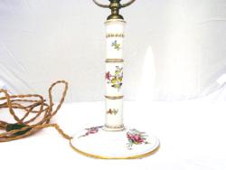 Rosenthale Selb Bavaria Barokk Lámpa szignált