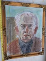 Varga Ferenc hagyatéka, méret jelezve, keret csak bemutató