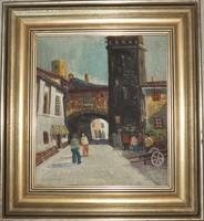 Vadász Endre - San Gimignano -