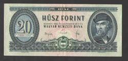 20 forint 1965.  VF+++!!  NAGYON SZÉP!!