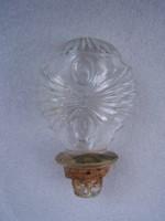   Antik üveg díszdugó