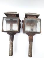 Konflis vagy hintólámpa pár - 2 db hintóra való lámpa együtt