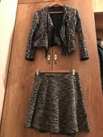 Szoknya és kabát együtt