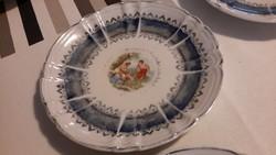 Oscar Schlegelmilch jelenetes süteményes tányér 5 db