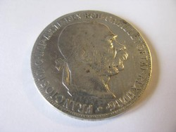 Ferenc J. ezüst 5 korona 1907.
