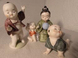 Kinai porcelán figurák